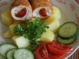 Kuracie prsia s maďarskou klobásou a syrom