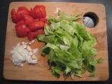 Šalát s mozzarelou