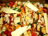 Zemiaky so zeleninou