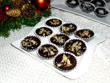 Čokoládové košíčky s orechovou náplňou / Čokoládové košíčky s ořechovou náplní