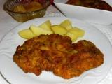 Kurací rezeň s cesnakom / Kuřecí řízek s česnekem