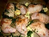 Pečené kuře s medvědím česnekem