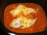 Recept na pečeného králíka na víně a hořčici v pomalém hrnci