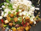 Tofu v korenenej omáčke