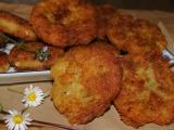 Vegetariánske zemiakové karbonátky /Vegetariánské karbanátky z brambor a balkánského sýra