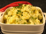 Zámecké šťouchané brambory pro přítelkyni Evu