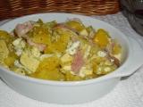 Zapečené zemiaky s tofu /Zapečené brambory s tofu