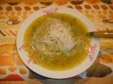 Brokolicová polievka s ryžovými rezancami