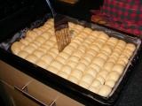 Dukátové buchtičky s vanilkovým krémom