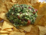 Guacamole s tortilla-chips