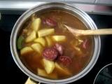 Gulasova kapustova polievka