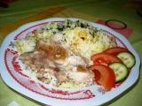 Hovädzie rezne s ryžou