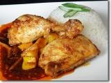 Indonézske pikantné kurča