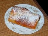 Jablkový koláč z kysnutého cesta