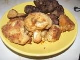 Karfiol vyprážaný na pekáči v rúre.