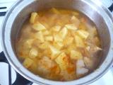 Karfiolova polievka s tofu
