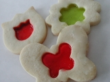 Keksy s okienkom - Stained glass cookies