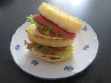 Knedlíkový sendvič