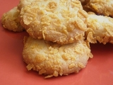 Kokosové Cookies z kukuričných lupienkov
