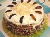 Kráľovská slivková torta