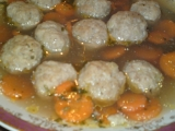 Mäsovo - syrové knedličky do polievky