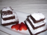 Minitorticky z brownies - Ked si Lienky povedali