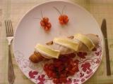 Motýliky z cherry paradajok
