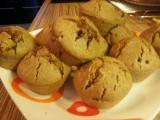 Orieškové muffiny s čokoládou