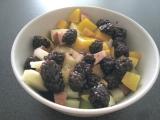 Ovocie s jogurtom v kokose