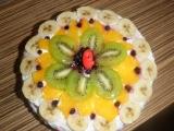 Ovocná torta s kokosom