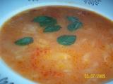 Paradajkova polievka s kapustou