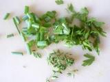 Pečená zelenina s bylinkovým tvarohom
