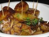 Pečené zemiaky s cesnakom