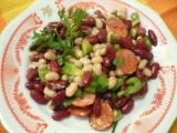 Pestrý fazuľový šalát