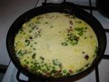 Pikantna omeleta s hraskom