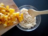 Pomarančová ryža ako dezert