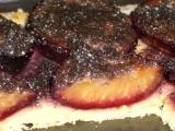 Rozpeky - slivkový koláč s makom