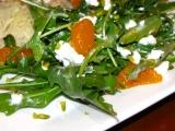 Rukolový šalát s mandarinkami