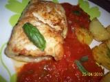 Rybacie závitky v paradajkovej  omáčke