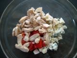 Šalát s morčacím mäsom