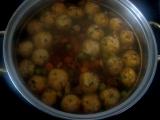 Šampiňónové knedlíčky do polievky