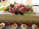 Slaná torta na oslavy