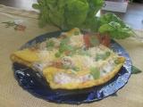 Slane plnene omelety