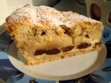 Slivkovo-jablkový koláč