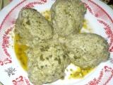 Špenátovo-zemiakové knedlíky