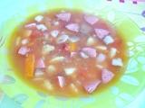 Srbská fazuľová polievka