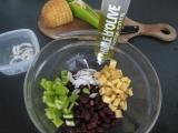 Syrový šalát s fazuľkami