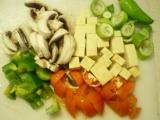 Tofu na zelenine