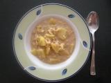 Vločkovo-pórová polievka
