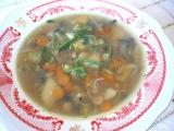 Zeleninová polievka s pohánkou